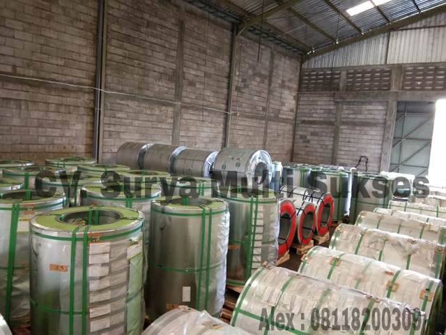 stok coil galvalume