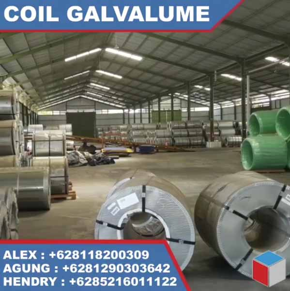 Coil Galvalume Surabaya