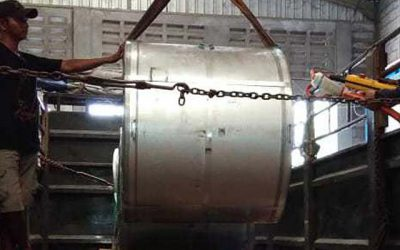 Proses Angkut Coil Galvalume