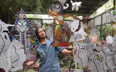 Inovasi Seni Wayang Berbahan Baja Ringan