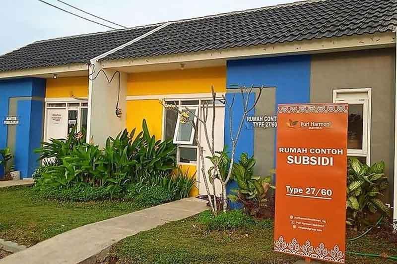 Rumah Subsidi di Bekasi, Rangka Atap Baja Ringan